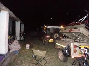 Freezing Mtoro store camp